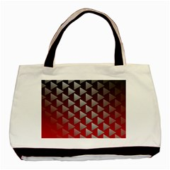 Netflix Play Button Pattern Basic Tote Bag
