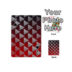 Netflix Play Button Pattern Playing Cards 54 (mini)