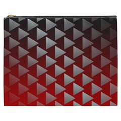 Netflix Play Button Pattern Cosmetic Bag (xxxl)