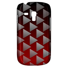Netflix Play Button Pattern Galaxy S3 Mini by Nexatart