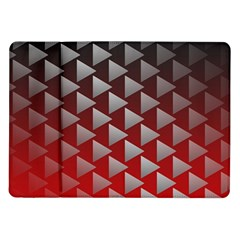 Netflix Play Button Pattern Samsung Galaxy Tab 10 1  P7500 Flip Case by Nexatart