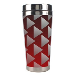 Netflix Play Button Pattern Stainless Steel Travel Tumblers by Nexatart