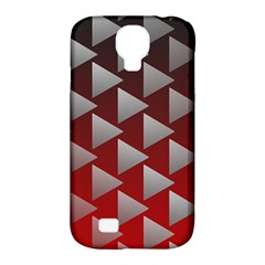 Netflix Play Button Pattern Samsung Galaxy S4 Classic Hardshell Case (pc+silicone)