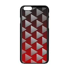 Netflix Play Button Pattern Apple Iphone 6/6s Black Enamel Case by Nexatart