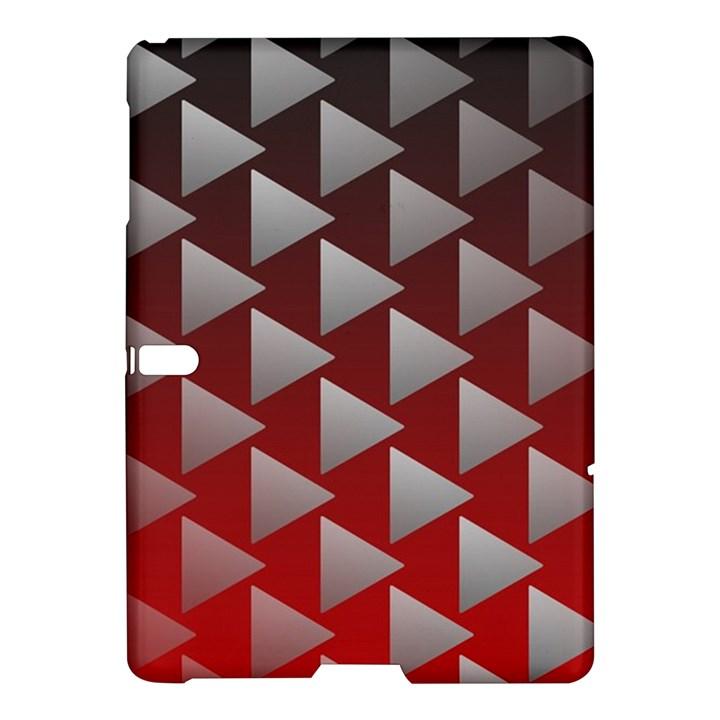 Netflix Play Button Pattern Samsung Galaxy Tab S (10.5 ) Hardshell Case