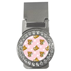 Kawaii Bear Pattern Money Clips (cz)  by Nexatart