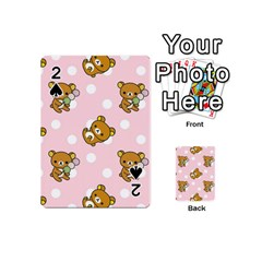 Kawaii Bear Pattern Playing Cards 54 (mini)