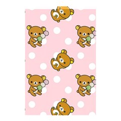 Kawaii Bear Pattern Shower Curtain 48  X 72  (small)  by Nexatart