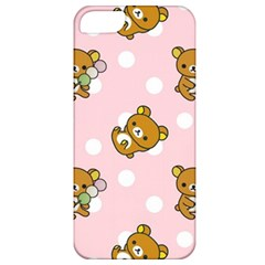 Kawaii Bear Pattern Apple Iphone 5 Classic Hardshell Case