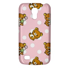 Kawaii Bear Pattern Galaxy S4 Mini