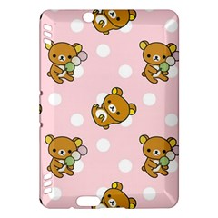 Kawaii Bear Pattern Kindle Fire Hdx Hardshell Case