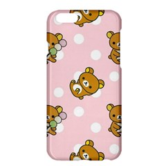 Kawaii Bear Pattern Apple Iphone 6 Plus/6s Plus Hardshell Case by Nexatart