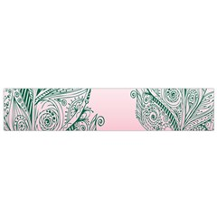 Toggle The Widget Bar Leaf Green Pink Flano Scarf (small) by Mariart