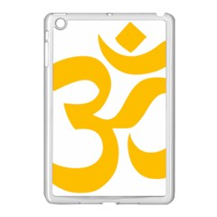 Hindu Gold Symbol (gold) Apple Ipad Mini Case (white) by abbeyz71
