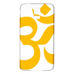 Hindu Gold Symbol (gold) Samsung Galaxy S5 Back Case (white) by abbeyz71