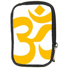 Aum Om Gold Compact Camera Cases by abbeyz71