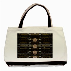 Pearls And Hearts Of Love In Harmony Basic Tote Bag (two Sides)