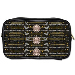 Pearls And Hearts Of Love In Harmony Toiletries Bags 2 Side