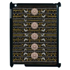Pearls And Hearts Of Love In Harmony Apple Ipad 2 Case (black)