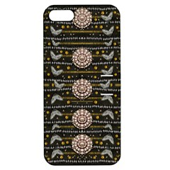 Pearls And Hearts Of Love In Harmony Apple Iphone 5 Hardshell Case With Stand by pepitasart