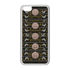 Pearls And Hearts Of Love In Harmony Apple Iphone 5c Seamless Case (white) by pepitasart
