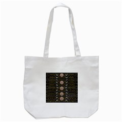 Pearls And Hearts Of Love In Harmony Tote Bag (white) by pepitasart