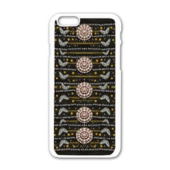 Pearls And Hearts Of Love In Harmony Apple Iphone 6/6s White Enamel Case by pepitasart