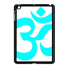 Aum Om Cyan Apple Ipad Mini Case (black) by abbeyz71