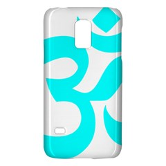 Aum Om Cyan Galaxy S5 Mini by abbeyz71