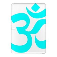 Aum Om Cyan Samsung Galaxy Tab Pro 10 1 Hardshell Case by abbeyz71