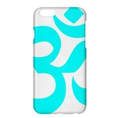 Aum Om Cyan Apple Iphone 6 Plus/6s Plus Hardshell Case by abbeyz71