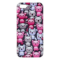 Cute Doodle Wallpaper Cute Kawaii Doodle Cats Iphone 5s/ Se Premium Hardshell Case