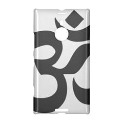 Hindu Om Symbol (dark Gray)  Nokia Lumia 1520 by abbeyz71