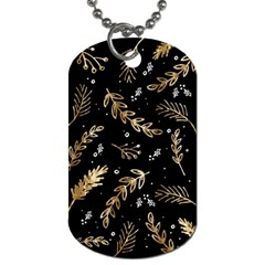 Kawaii Wallpaper Pattern Dog Tag (one Side)