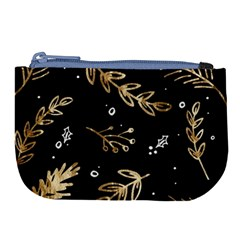 Kawaii Wallpaper Pattern Large Coin Purse by Nexatart