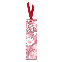 Pink Flower Pattern Small Book Marks by Nexatart
