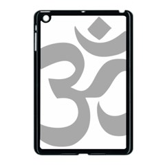 Hindu Om Symbol (light Gray) Apple Ipad Mini Case (black) by abbeyz71