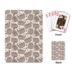 Pusheen Wallpaper Computer Everyday Cute Pusheen Playing Card by Nexatart