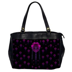 Wonderful Jungle Flowers In The Dark Office Handbags by pepitasart