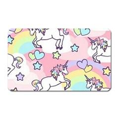 Unicorn Rainbow Magnet (rectangular)