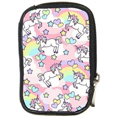 Unicorn Rainbow Compact Camera Cases by Nexatart