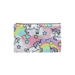 Unicorn Rainbow Cosmetic Bag (small)