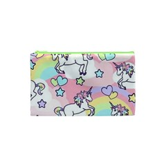 Unicorn Rainbow Cosmetic Bag (xs)