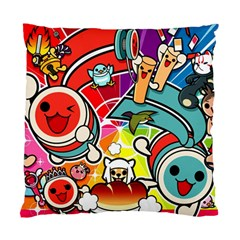 Cute Doodles Wallpaper Background Standard Cushion Case (two Sides) by Nexatart