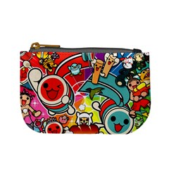 Cute Doodles Wallpaper Background Mini Coin Purses