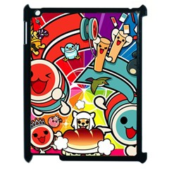 Cute Doodles Wallpaper Background Apple Ipad 2 Case (black) by Nexatart