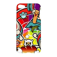 Cute Doodles Wallpaper Background Apple Ipod Touch 5 Hardshell Case