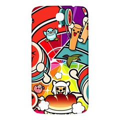 Cute Doodles Wallpaper Background Samsung Galaxy Mega I9200 Hardshell Back Case