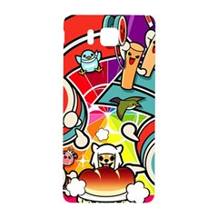 Cute Doodles Wallpaper Background Samsung Galaxy Alpha Hardshell Back Case