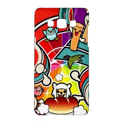 Cute Doodles Wallpaper Background Samsung Galaxy A5 Hardshell Case  by Nexatart